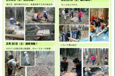 里山ボランティア活動報告(3月)