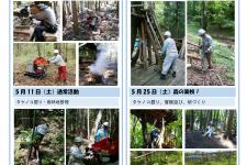 里山ボランティア活動報告(5月)